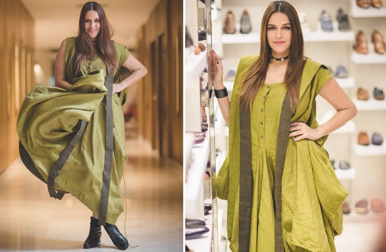 Neha Dhupia in Chola Outfit