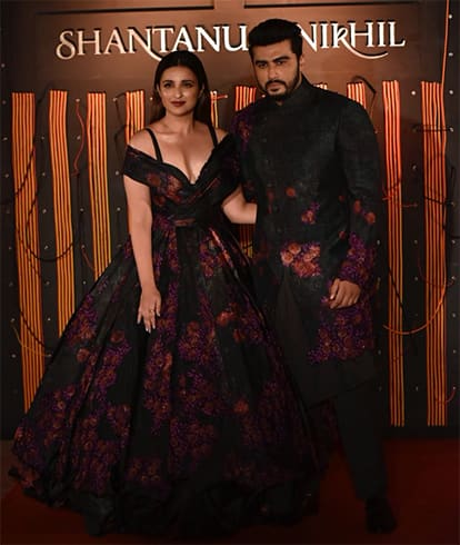 Parineeti Chopra and Arjun Kapoor For Shantanu And Nikhil