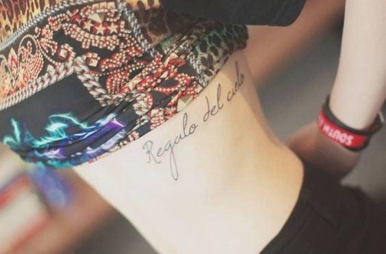 Rib Cage Tattoos