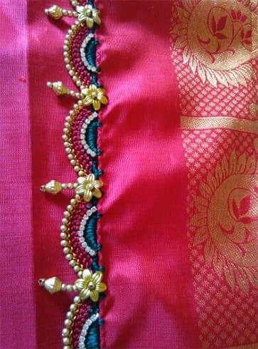 Saree Crochet Kuchu