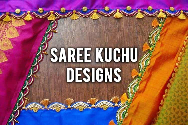 60260ab6eba219 Saree Kuchu Designs: Try Tassels To Give Your Drape A Designer Finish!
