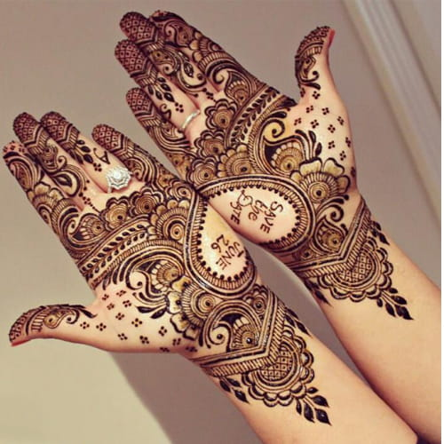 Save the Date Mehendi