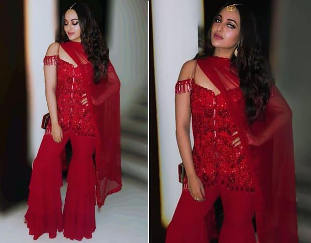 Sonakshi Sinha in Arpita Mehta Outfit