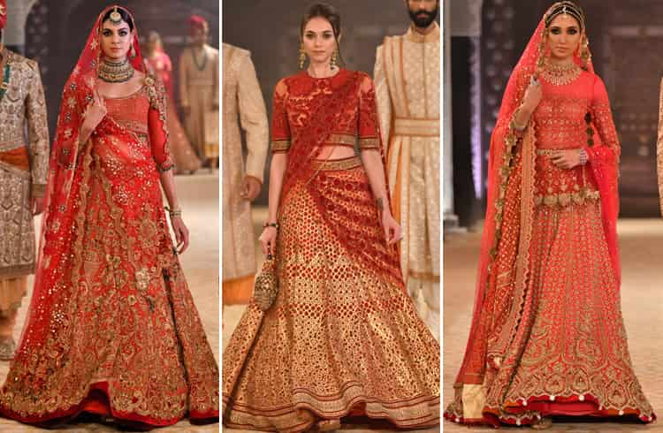 Tarun Tahiliani Bridal Collection at ICW 2018