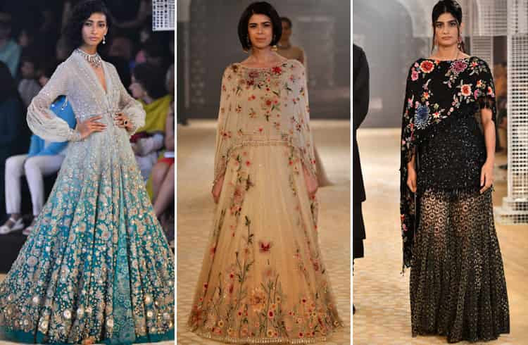 Tarun Tahiliani Collection at ICW 2018