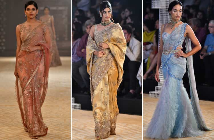 Tarun Tahiliani Saree Collection at ICW 2018