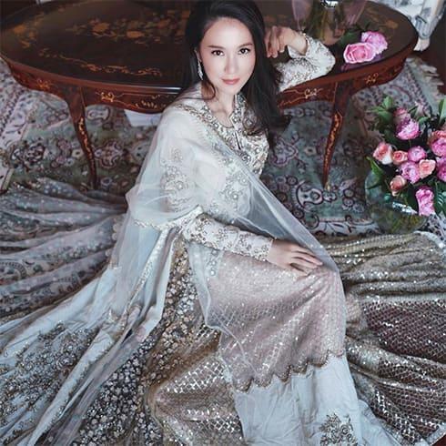 Valerie Tsui in Sabyasachi