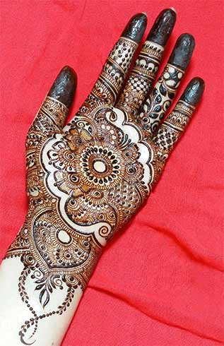 Abstract Mehndi