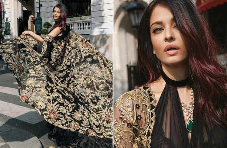 Aishwarya Rai in Zuhair Murad Dress