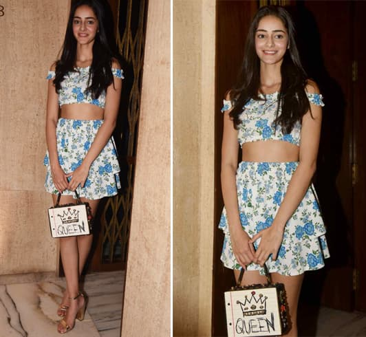 Ananya Panday at MM Party