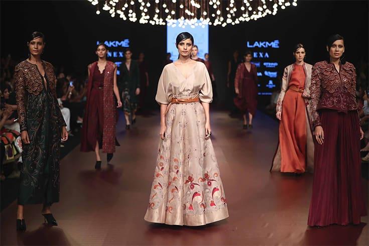 Ankur and Priyanka Modi LFW 2018