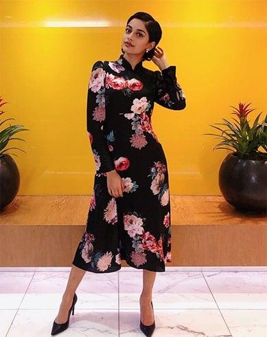 Banita Sandhu Floral Outfit