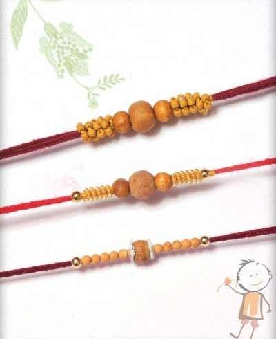 Beaded Rakhi Bracelets