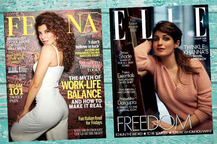 Bollywood Magazine Covers August 2018