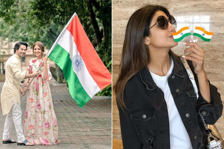 Bollywood Celebs Posts On Independence Day