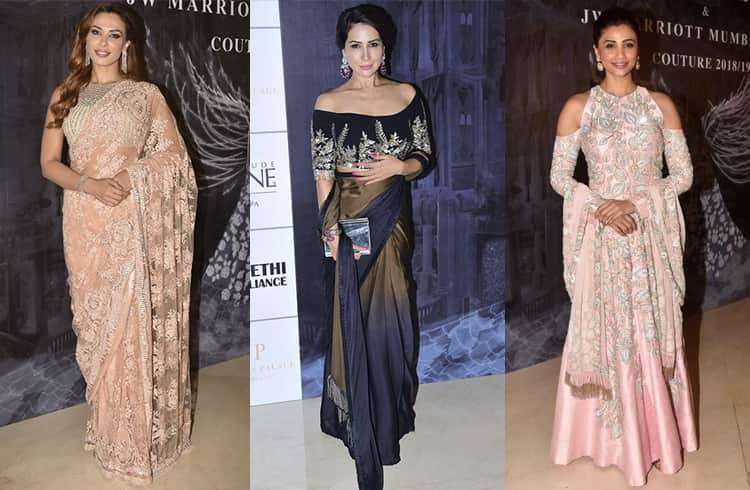 Celebs at Manish Malhotra Couture Show