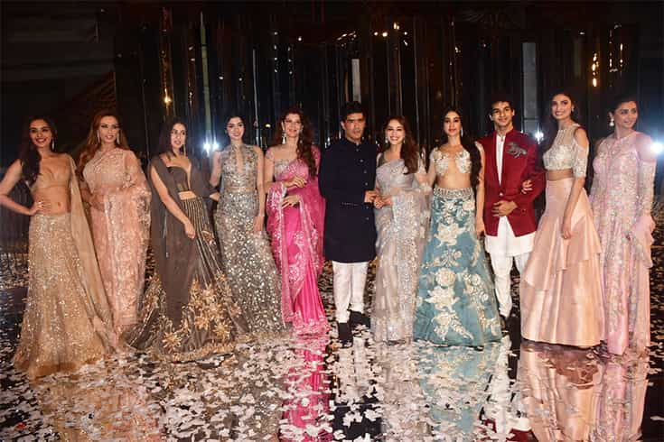 Celebs at Manish Malhotra Show