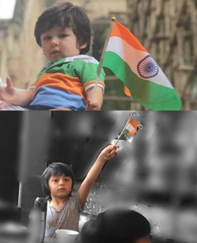 Celebs Kids on Independence Day
