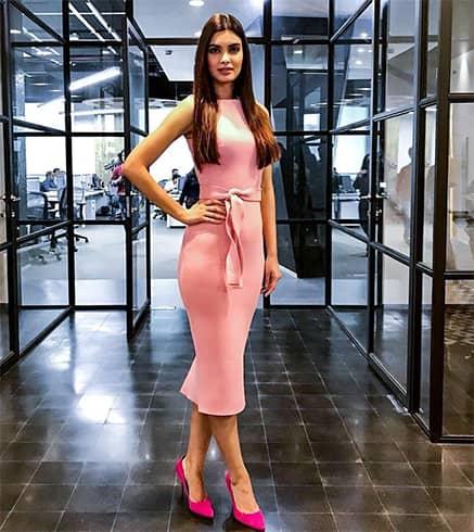 Diana Penty in Gauri Nainika Dress