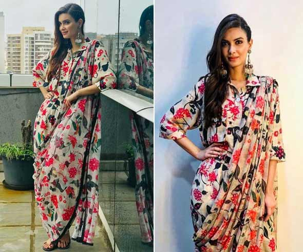 Diana Penty in Abraham Thakore outfit