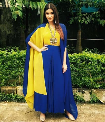 Diana Penty in Payal Khandwala Outfit
