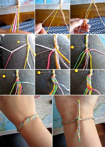 DIY Friendship Bands