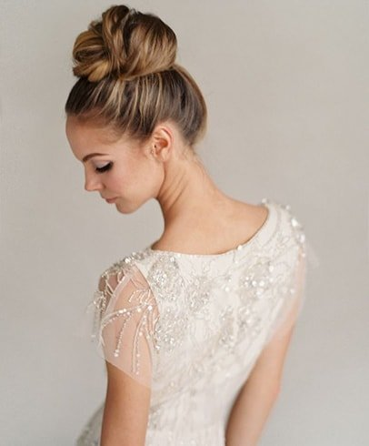 Hairstyles For Wedding Gown