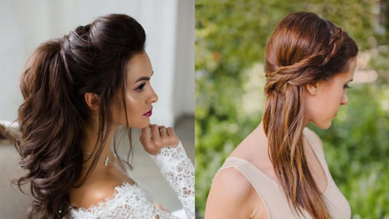 11 Flamboyant Hairstyles For Gown To Adorn