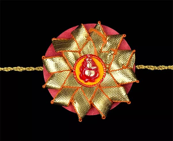 Easy Rakhi Designs