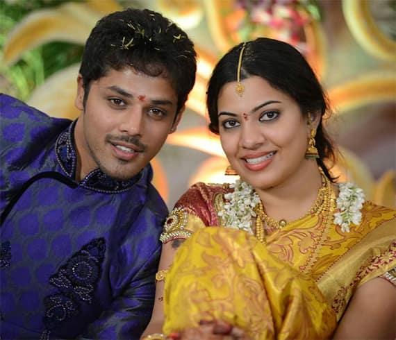 Geetha Madhuri Nandu Marriage