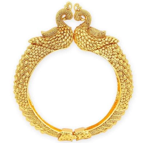 Gold Kada Bracelet