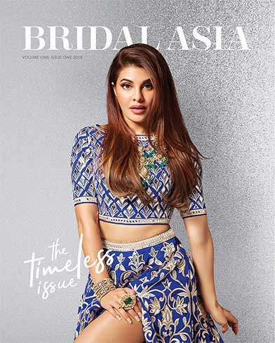 Jacqueline Fernandez on Bridal Asia Cover