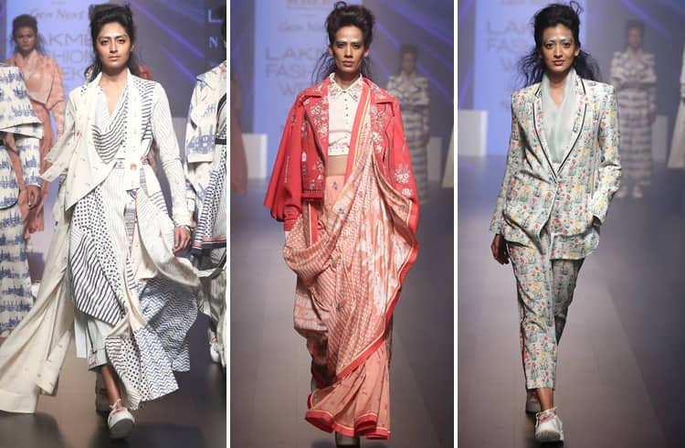 Jajaabar Collection at LFW 2018