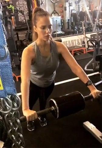 Jessica Alba Fitness