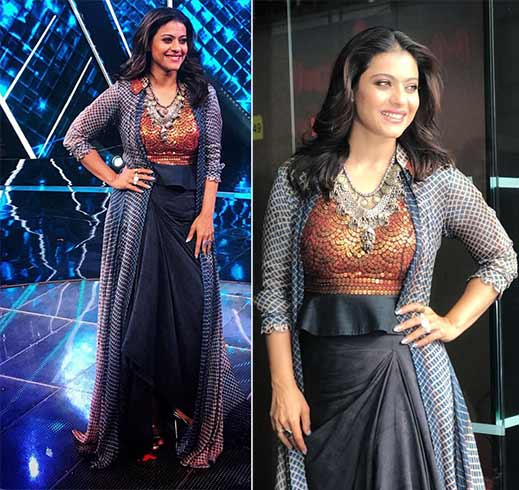 Kajol in Anoli Shah Outfit