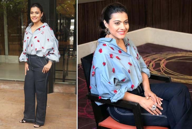 Kajol in Dhruv Kapoor Dress