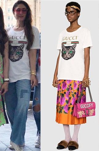 Kareena Kapoor in Gucci T Shirt