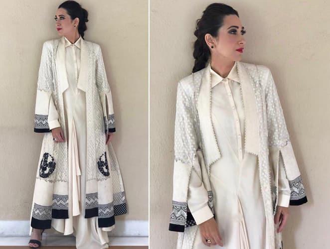 Karisma Kapoor Tarun Tahiliani outfit