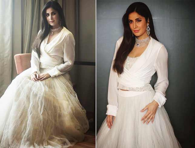 Katrina Kaif in Shriya Som Outfit