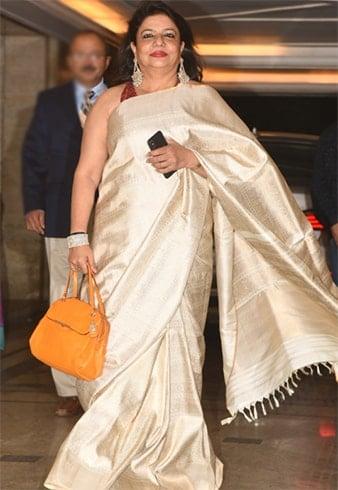 Madhu Chopr at Priyanka Chopra Engagement