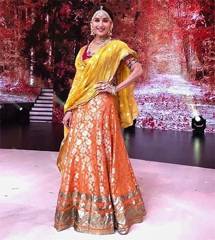 Madhuri Dixit Manish Malhotra outfit