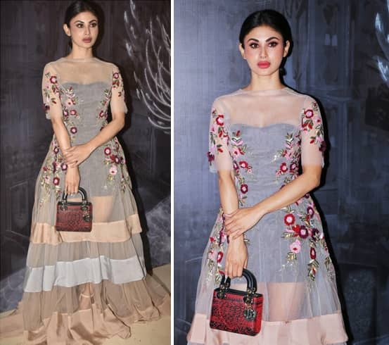 Mouni Roy Manish Couture Show