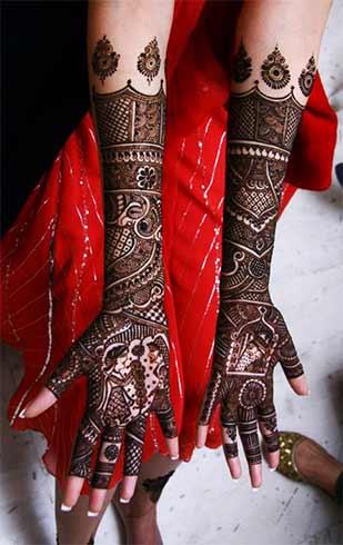 Mughlai Henna Designs