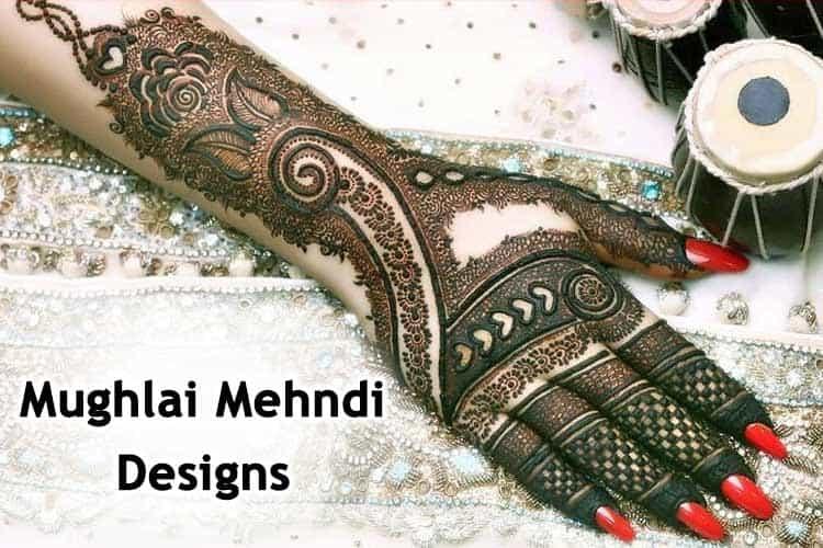 Mughlai Mehndi Designs