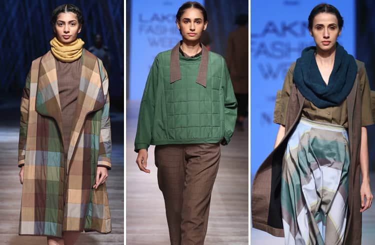 Naushad Ali Musiri Collection at LFW 2018