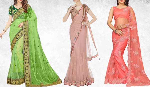 Net Sarees For Festival