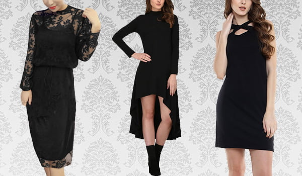 New-Age Black Dresses