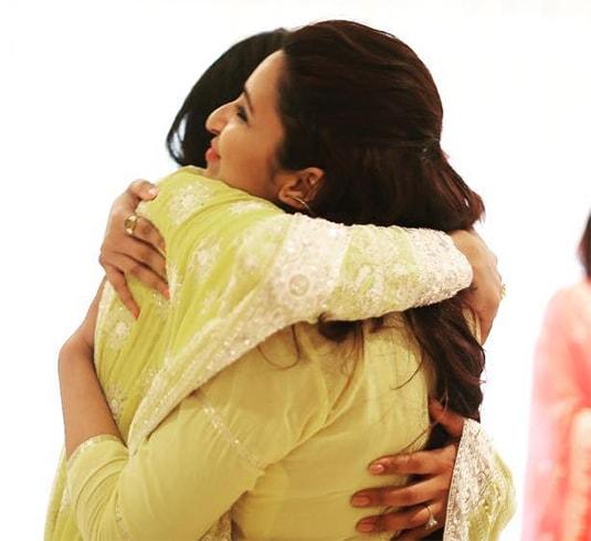 Parineeti Chopra at Priyanka Engagement