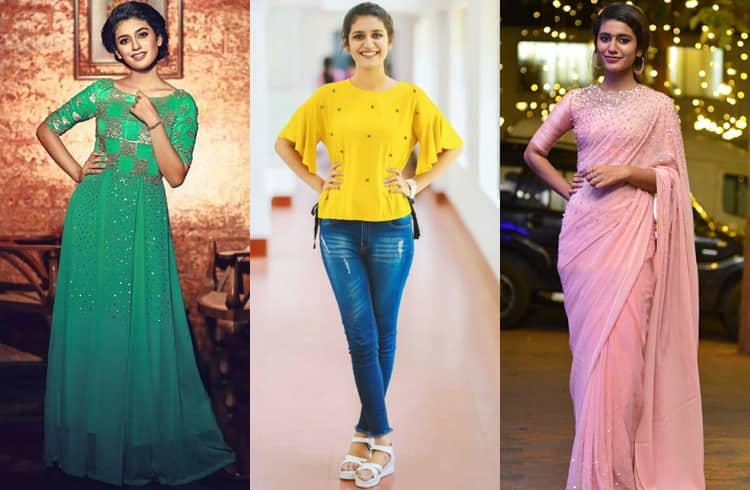 Priya Prakash Varrier Fashion