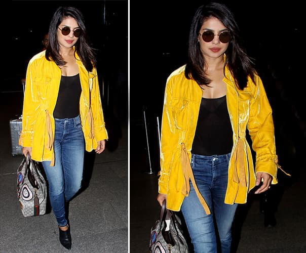 Priyanka Chopra Yellow Jacket
